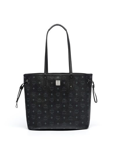 Medium Reversible Shopper Bag, Black
