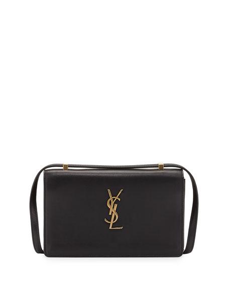Saint Laurent Monogram Small Dylan Shoulder Bag, Black