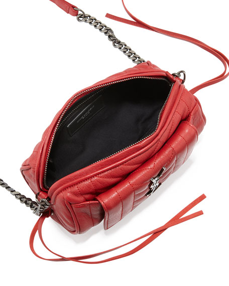 Rider East-West Roll Camera Bag, Red