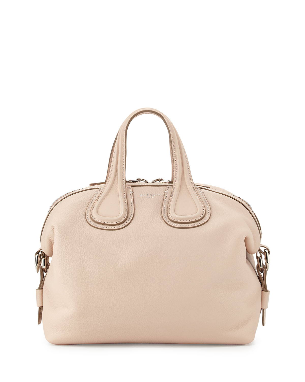 0535a61c96 Givenchy Nightingale Small Waxy Leather Satchel Bag