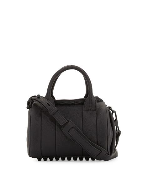 Alexander Wang Rockie Mini Matte Leather Duffel Bag,