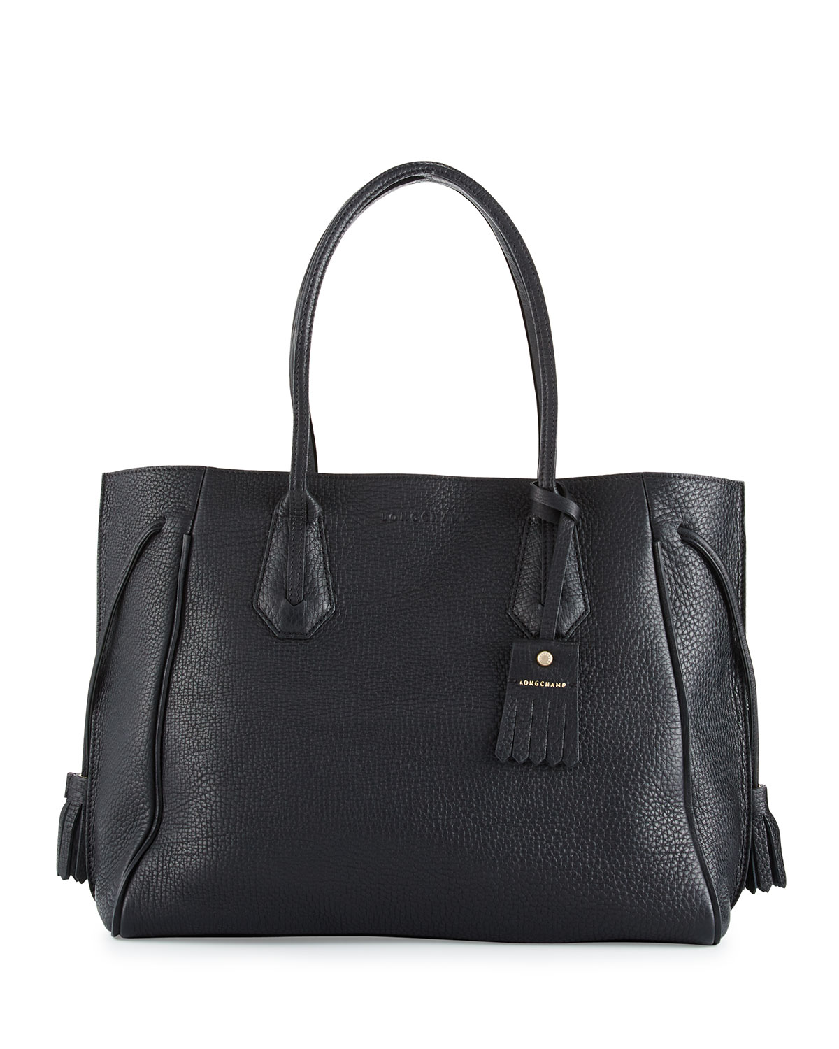 Quick Look. Longchamp · Penelope Large Leather Tote Bag. Available in Black c5ba22b83f2b8