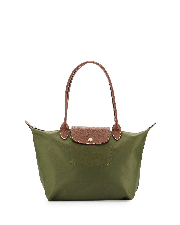 c770cd7bf718 khaki Canvas messenger bag for men … Le Pliage Medium Shoulder Tote ...