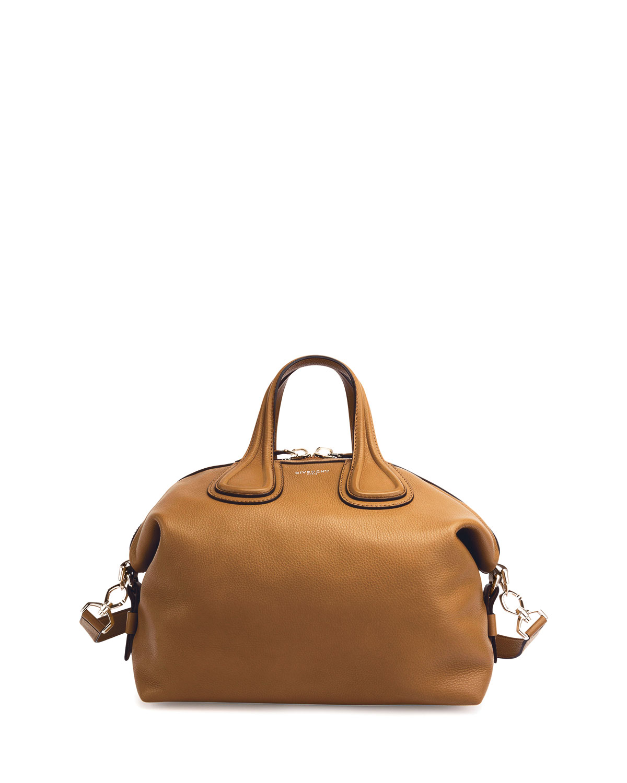 f0315f6cad Givenchy Nightingale Medium Waxy Leather Satchel Bag
