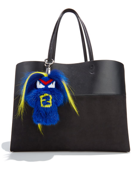 Fendirumi Micro Monster Charm, Blue/Multi