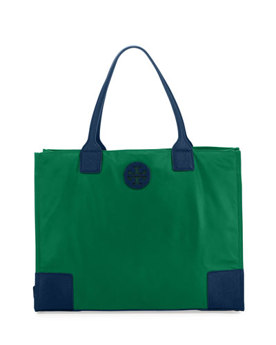 Ella Packable Nylon Tote Bag, Norwood