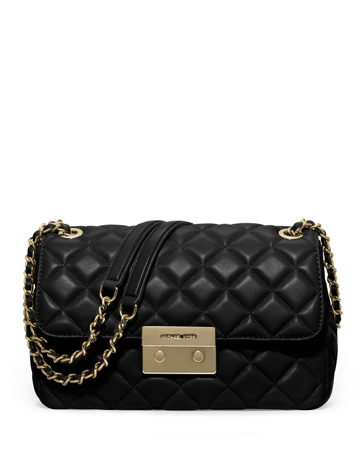 aa0aa0b2a3 MICHAEL Michael Kors Sloan Large Quilted Leather Shoulder Bag