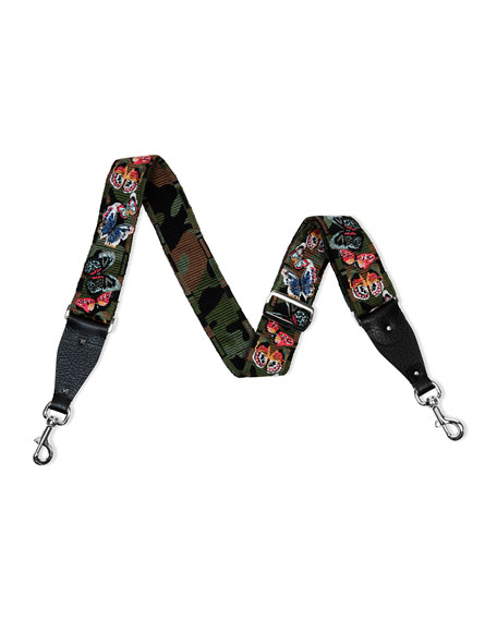 Valentino Camu Butterfly Guitar Strap for Handbag