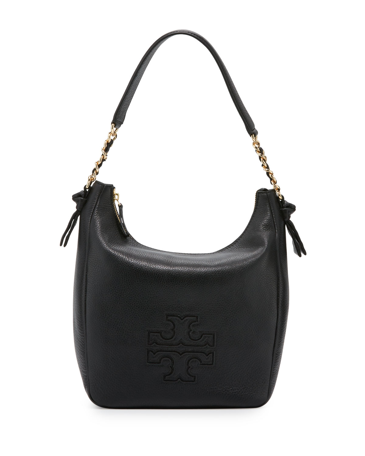 35a4a91d2dc9 Tory Burch Harper Leather Zip Hobo Bag