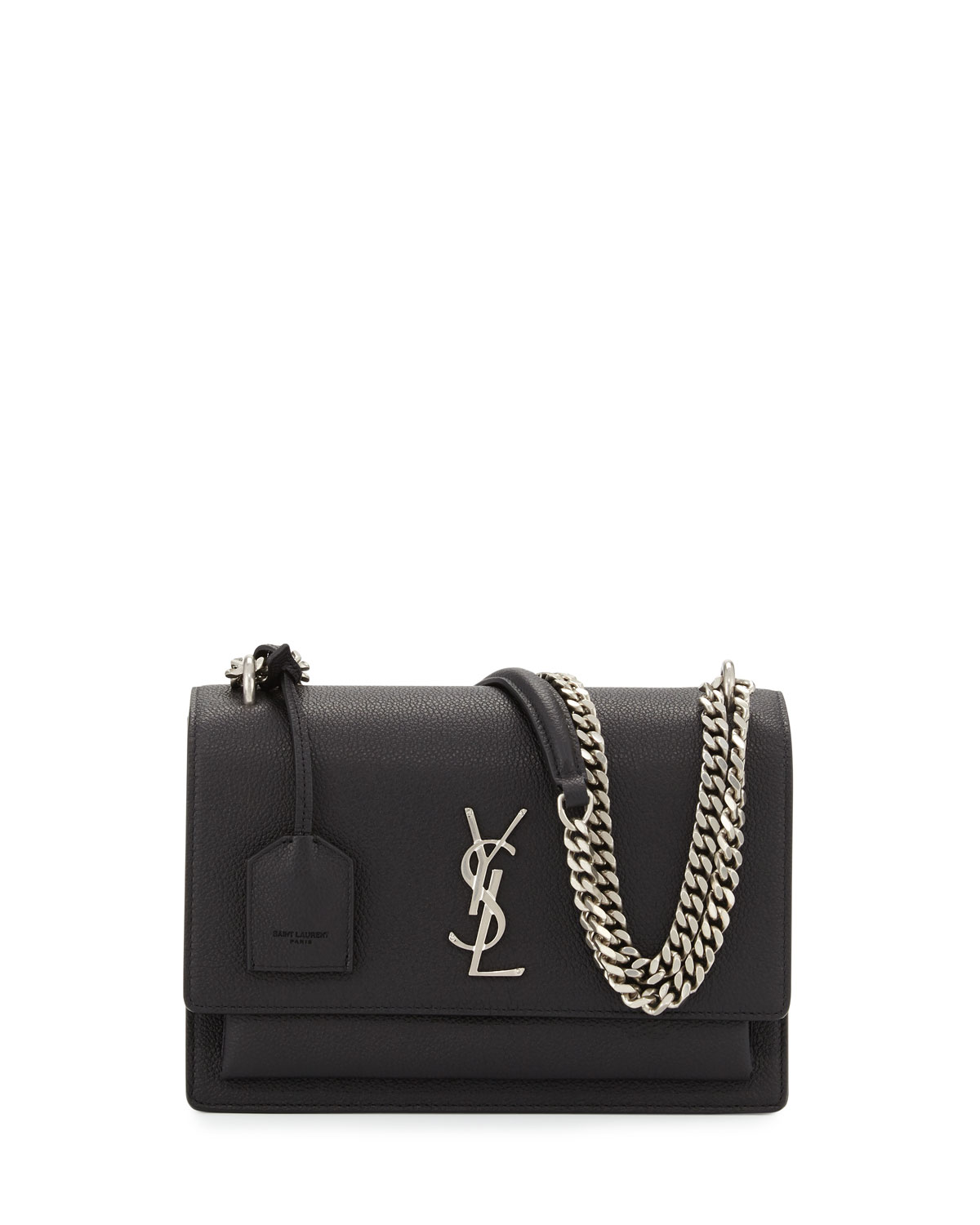 79acf6ae0c1d Saint Laurent High School Medium Chain Satchel Bag