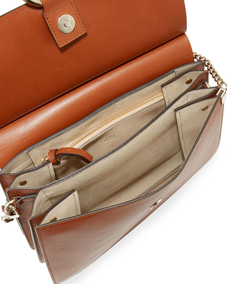 Image 2 of 3: Chloe Faye Medium Flap Shoulder Bag