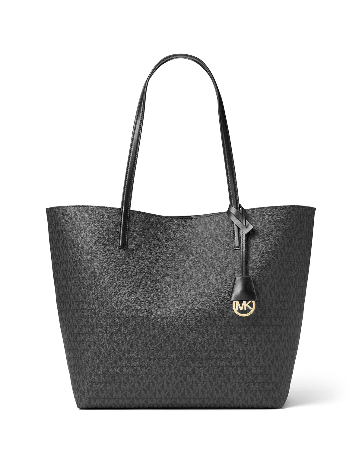 2761416366b7 MICHAEL Michael Kors Hayley Large East-West Logo-Print Tote Bag ...