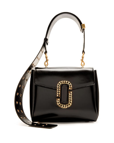St. Marc Top-Handle Bag, Black
