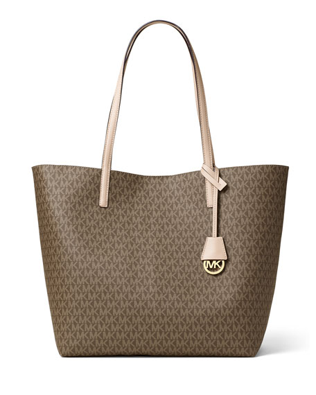 MICHAEL Michael Kors Hayley Large East-West Logo-Print Tote