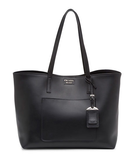 3c4ef4dfe5da Prada Soft Calf Impunture Galleria Shopping Bag 25cm | Stanford ...