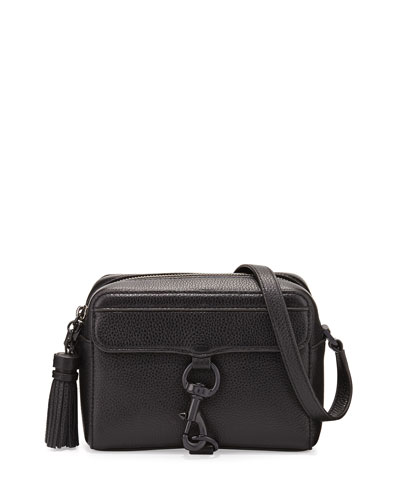 MAB Leather Camera Bag, Black