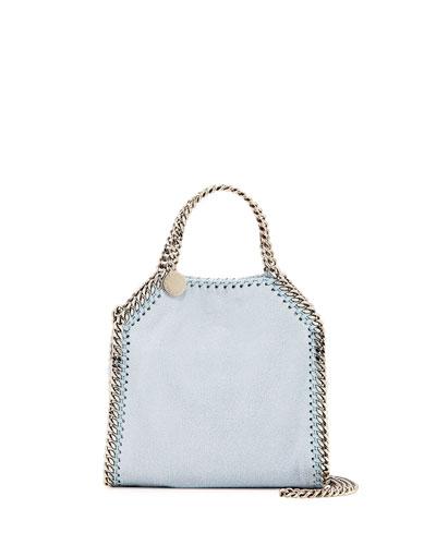 Falabella Tiny Tote Bag, Blue