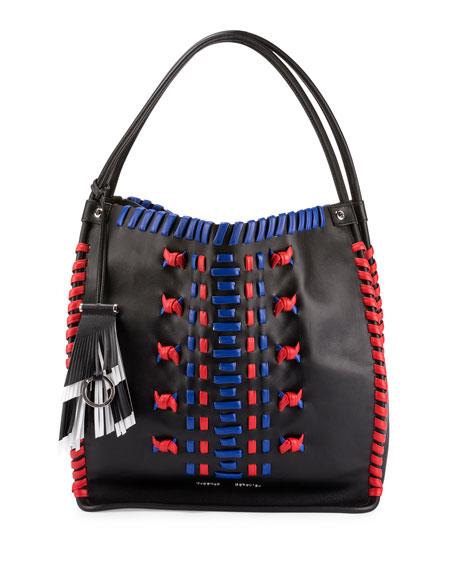 Proenza Schouler Whipstitch Leather Medium Tote Bag, Black