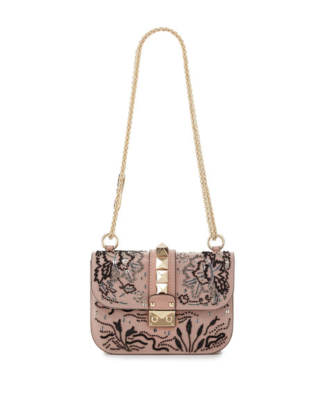 Floral Shoulder Strap Bag | Neiman Marcus