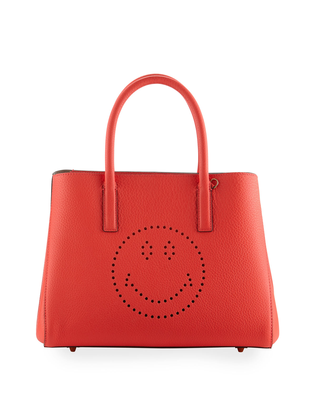 3e426d76aa83 Anya Hindmarch Ebury Small Smiley Tote Bag
