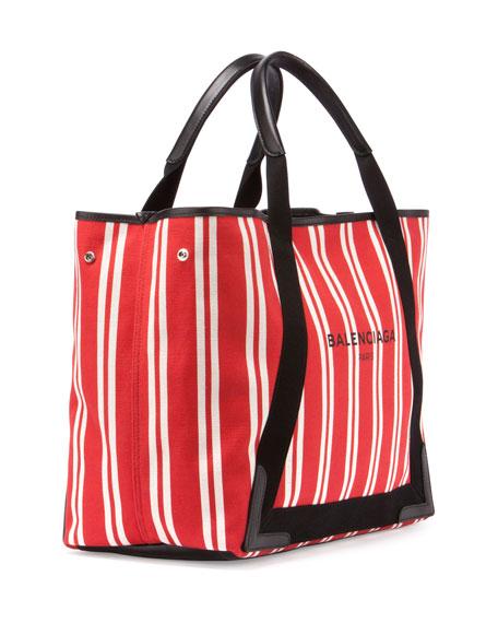 Cabas Medium Striped Tote Bag