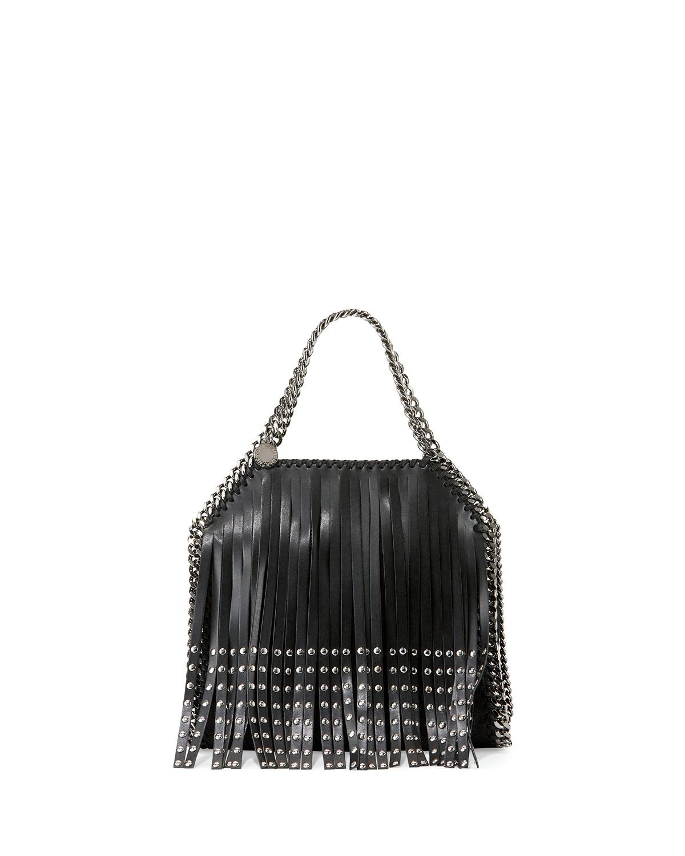 b5361947855c Stella McCartney Falabella Mini Studded Fringe Tote Bag