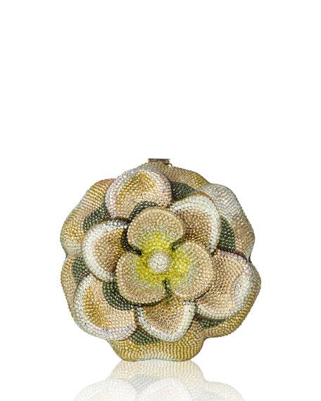 Judith Leiber Couture Magnolia Blossom Clutch Bag