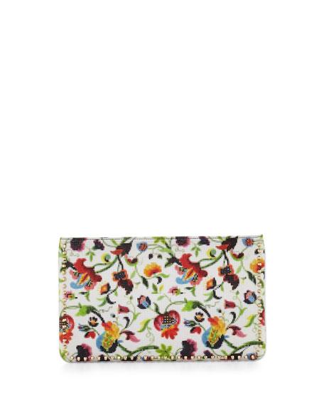 Christian Louboutin Loubiposh Floral Mosaic Clutch Bag, Multi