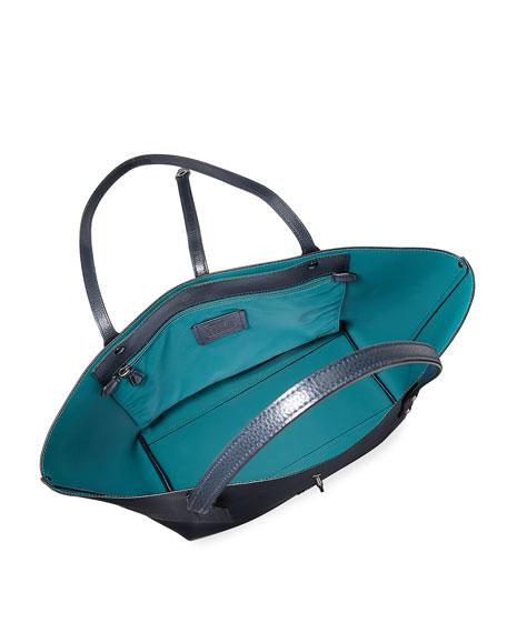 Market Pebbled Leather Tote Bag