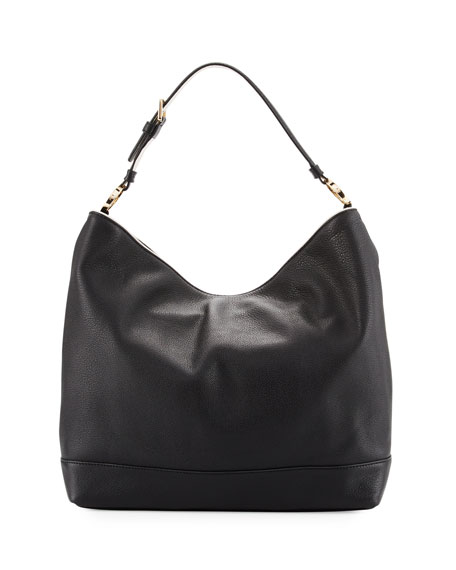 Tory Burch Duet Leather Hobo Bag
