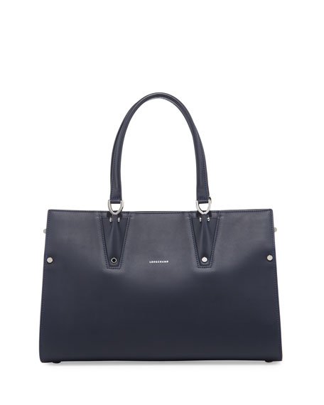 Longchamp Paris Premier Large Tote Bag, Blue