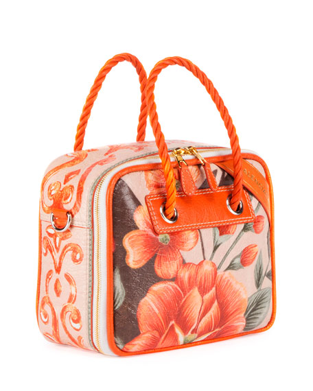 Blanket Square Medium Floral Shoulder Bag