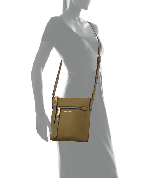 Trooper North-South Nylon Crossbody Bag
