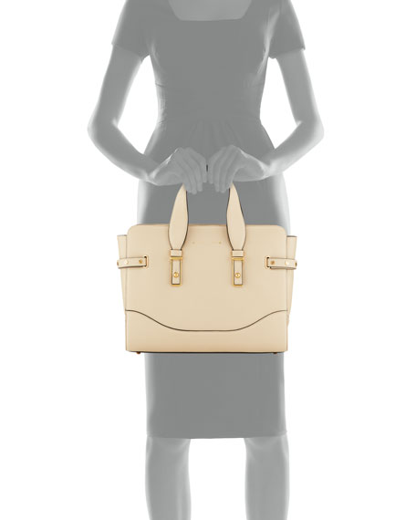 The Rivet Leather Satchel Bag