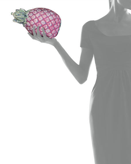 Hilo Pineapple Crystal Clutch Bag