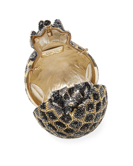 Hilo Pineapple Crystal Clutch Bag