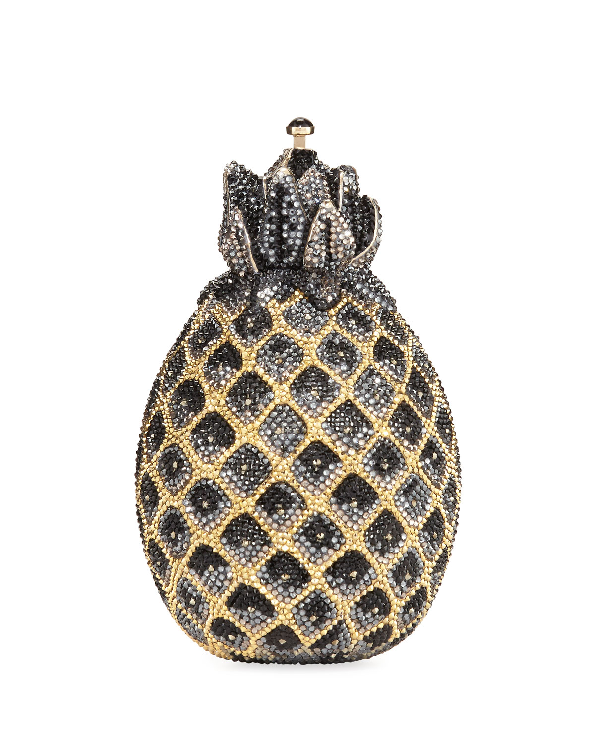 Judith Leiber Couture Hilo Pineapple Crystal Clutch Bag  0c7cdc038c9ae