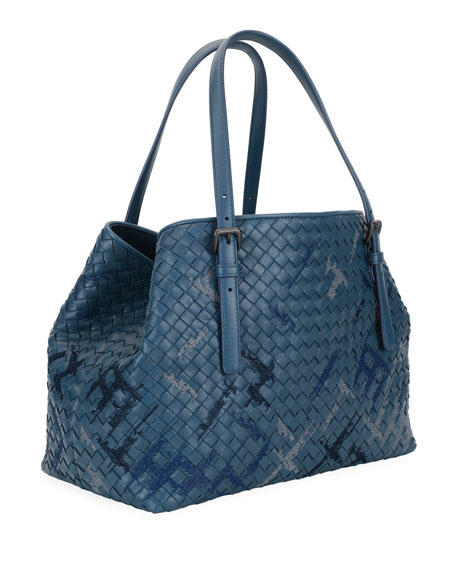 Intrecciato Double-Handle Tote Bag