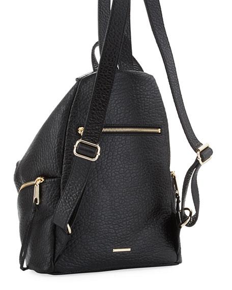 Rebecca Minkoff Julian Large Leather Backpack, Black
