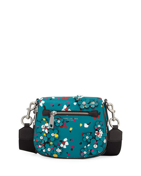 Marc Jacobs Nomad 3D Flowers Small Messenger Bag,