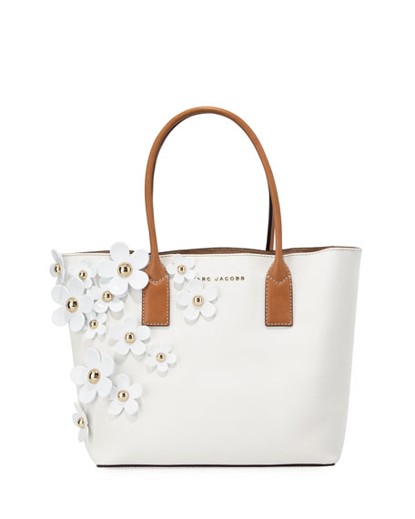 Marc Jacobs The Daisy Flower Tote Bag, Lily/White/Multi