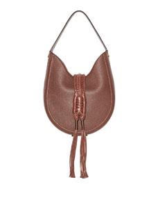 Altuzarra Ghianda Woven Leather Hobo Bag by Altuzarra