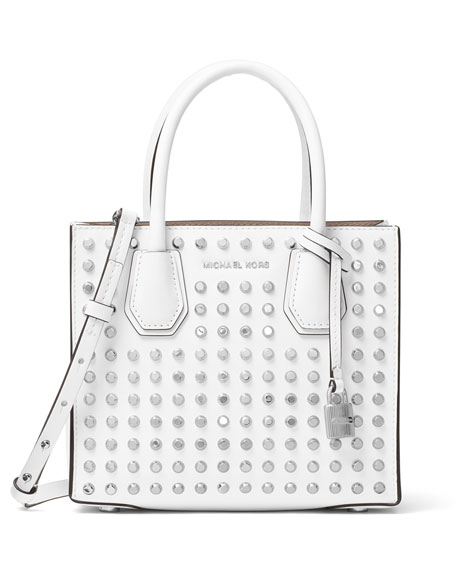MICHAEL Michael Kors Mercer Studded Grommet Medium Messenger