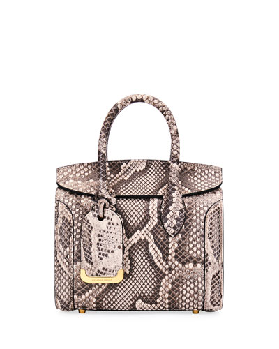 Heroine 21 Mini Rock Python Tote Bag