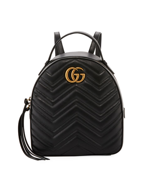 Designer Backpacks: Nylon & Leather at Neiman Marcus : leather quilted backpack - Adamdwight.com