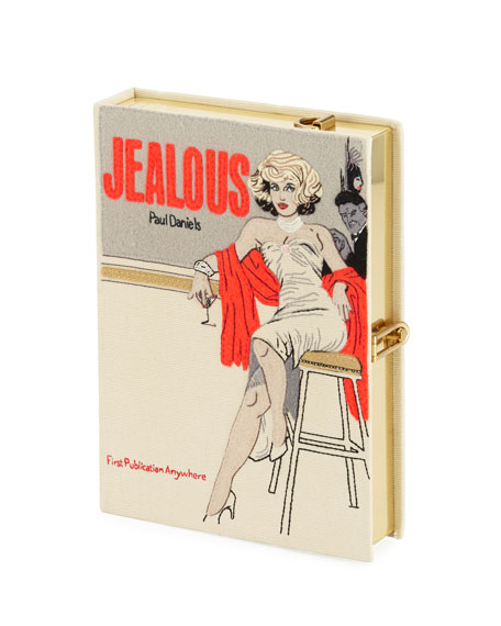 Olympia Le-Tan Jealous Book Clutch Bag