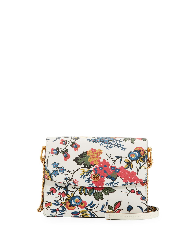 1d611eac7c9 Tory Burch Parker Floral Convertible Shoulder Bag