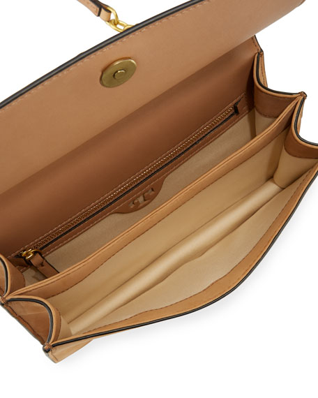 Sadie Metallic Suede Shoulder Bag