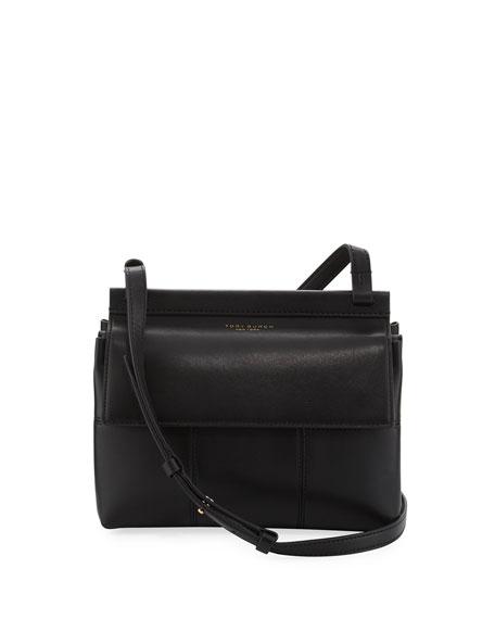 Block-T Leather Crossbody Bag