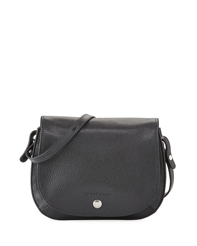 b7ea67628fa Longchamp Le Foulonne Small Leather Cross Body Bag | Neiman Marcus
